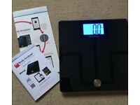 Smart Scales (Precision Body Fat Analyser Health Monitor Bluetooth 4.0 by Activ8rlives)
