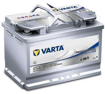 Varta Professional Dual Purpose AGM LA70 12V 70Ah Batterie 840070076 Boot Camper online kaufen