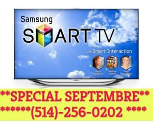 VENTE SEPTEMBRE 2017  TV SAMSUNG TV LED TV FULL HD TV 4K TV LG ULRA HD TV 4K  TV 1080P VIZIO 4K SHARP SMART TV 120hz led
