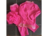 Girls M&S 3 Piece Swim Suit