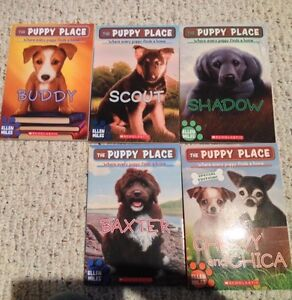5 Puppy Place books by Ellen Miles