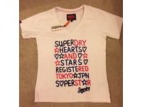 Superdry top size large BNWT