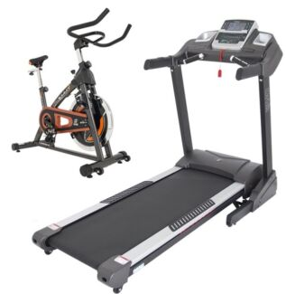 Treadmill with free spin bike save $499