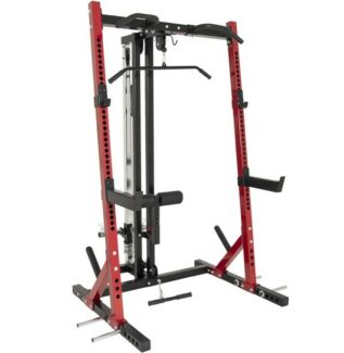 MAX POWER RACK WITH LAT ATTACHMENT