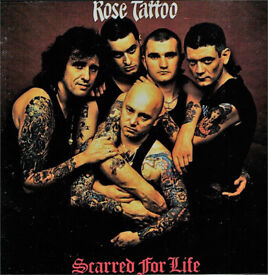 ROSE TATTOO plus Girlschool ticket, Sep 13th London SOLD OUT, Face value £35