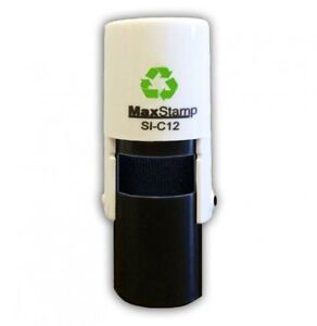 CUSTOM-MADE-SELF-INKING-RUBBER-STAMP-10mm-DIA-MAX-C12