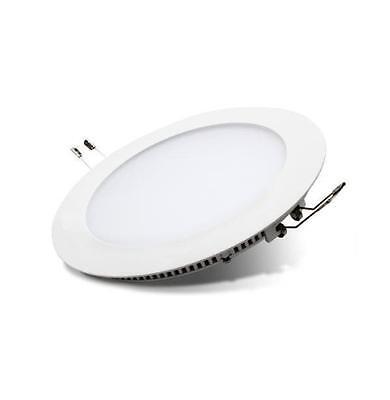 Luz LED Downlight Redondo Extraplano 18W para Interior Blanca 90 Leds (3338)