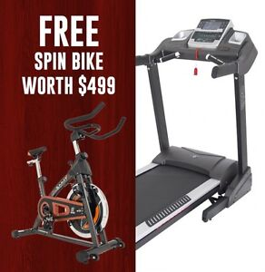 FREE SPIN BIKE WITH ST37A.1 TREADMILL @ ORBIT FITNESS BUNBURY Bunbury Region Preview