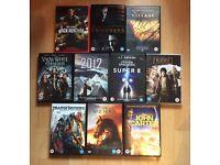 Job lot 10 DVDs thriller/action/horror (bundle #6)