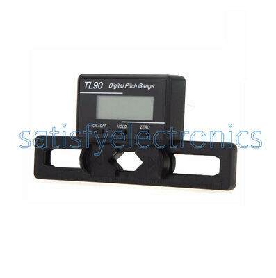 Digital Pitch Gauge (TL90 Digital Pitch Gauge LCD Blades Degree Angle For ALIGN AP800 TREX 450-700)