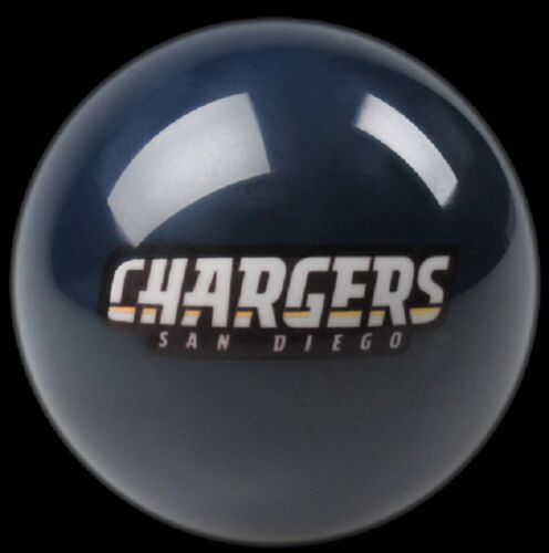 BLUE SAN DIEGO CHARGERS NFL TEAM BILLIARD GAME POOL TABLE REPLACEMENT CUE 8 BALL