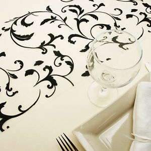 chemin de table baroque 28cm 5m deco table mariage decoration mariage noir ebay. Black Bedroom Furniture Sets. Home Design Ideas