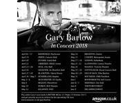 2x Gary Barlow Edinburgh Playhouse 17th April £70 each