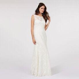 Size 14/16 new wedding dress