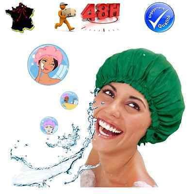 bonnet douche charlotte bain rutilisable permanente bigoudis coloration cheveux - Coloration Rutilisable