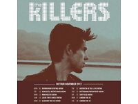1xstanding Killers tickets for 23/11/2017 at Nottingham Motor point Arena