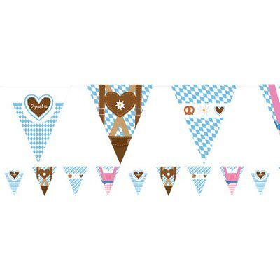German Themed Birthday Party (OKTOBERFEST GERMAN BAVARIAN THEMED PLASTIC BUNTING FOR BIRTHDAY)