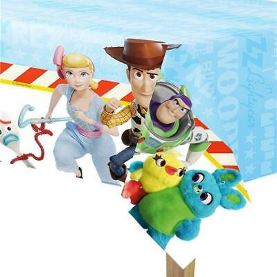 TOY STORY 4 DISNEY PLASTIC PARTY TABLE COVER WOODY BUZZ LIGHTYEAR PIXAR NEW GIFT