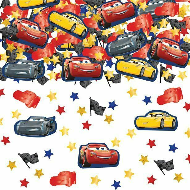 34g+of+Disney+Pixar+Cars+3+Confetti