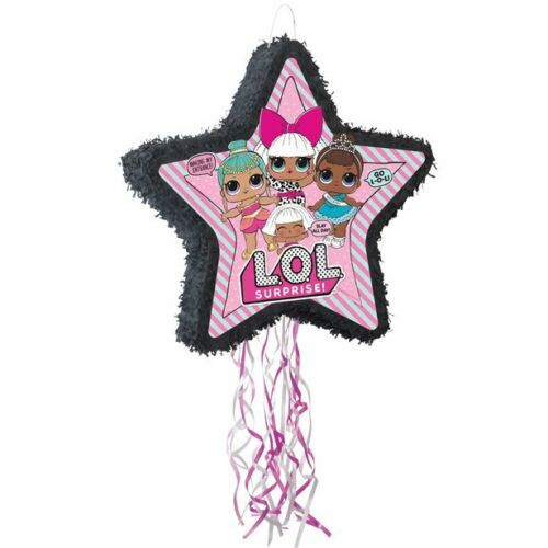 LOL Surprise star Drum Pull Pinata Birthday Party Toy