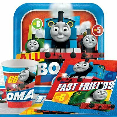Thomas The Tank Engine Party Pack for 8 - Plates, Napkins, Cups & Tablecover (Thomas The Tank Engine Party)