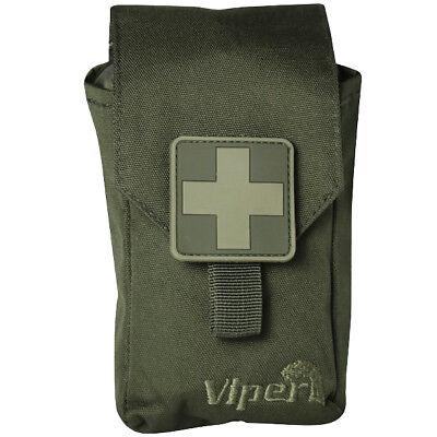 Viper Eerste Hulp Van De Jacht Kit Wandelen Medische Molle Safety Zak Green