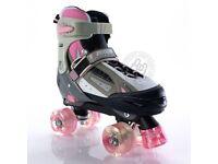 New girls roller skates size 12- 2