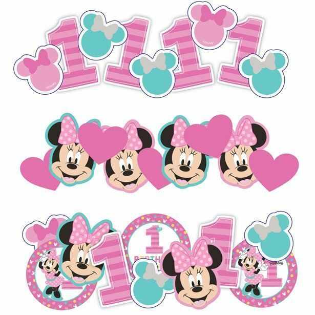 34g+of+Disney+Baby+Minnie+Mouse+ONE+Confetti