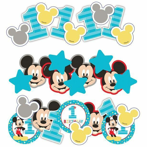 34g+of+Disney+Baby+Mickey+Mouse+ONE+Confetti