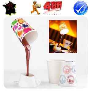 lampe de bureau usb led tasse cafe veilleuse de chevet idee cadeau originale ebay. Black Bedroom Furniture Sets. Home Design Ideas
