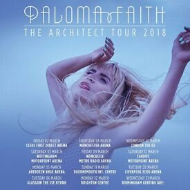 URGENT Paloma Faith for Manchester TONIGHT