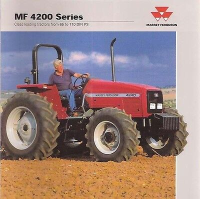 Massey Ferguson Mf 4235 4240 4243 4245 253 4255 4260 4263 Tractor Service Manual