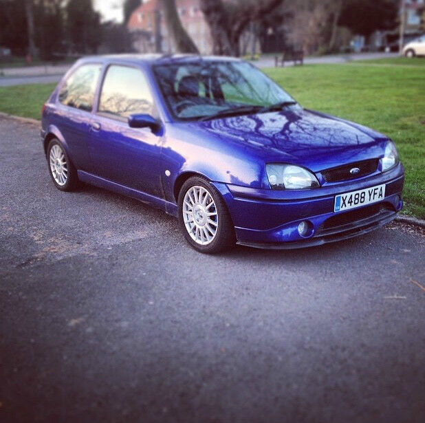 Ford Fiesta 1 2 Zetec 5 Door Hatchback: Blue Ford Fiesta Zetec S For Sale