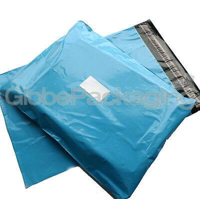 50 x Baby Blue STRONG Postal Mailing Bags - 17 x 21