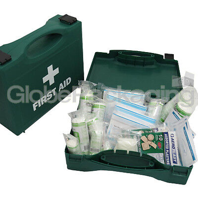 1-10 PERSON HSE FIRST AID KIT - WORKPLACE HOME TAXI CARAVAN BOAT *HARD CASE*
