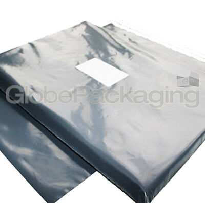 150 x GREY MAILING BAGS 9x12