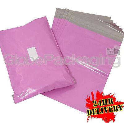 500 x Large PINK Postal Mailing Bags Sacks 19