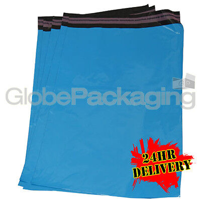 5000 x Baby Blue STRONG Postal Mailing Bags - 8.5