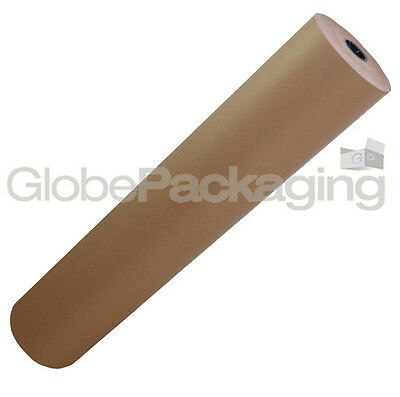750mm x 25M Strong Brown Kraft Wrapping Paper 88gsm