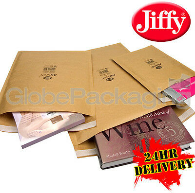 150 x JIFFY JL6 GOLD PADDED BAGS ENVELOPES 290x445mm