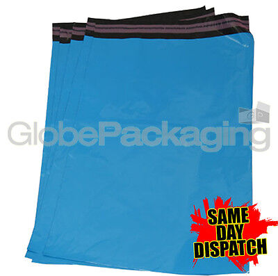 10 x Baby Blue STRONG Postal Mailing Bags Sacks 8.5x13