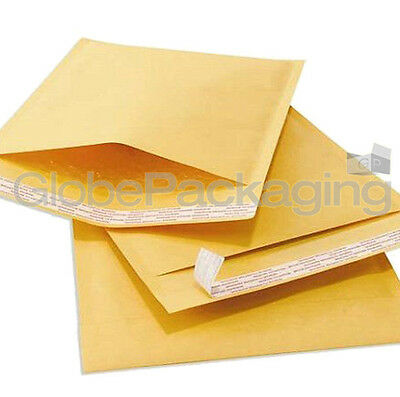 50 X Size H5 Padded Bubble Bags Envelopes - 260 X 345mm