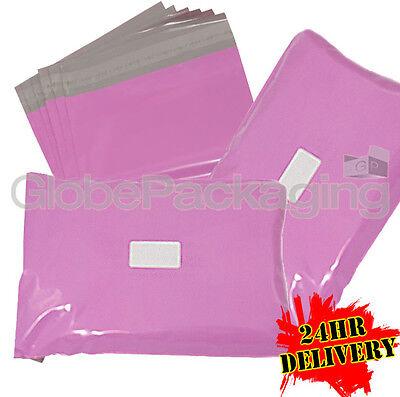 2000 x Strong PINK Postal Mailing Bags Sacks 12x16