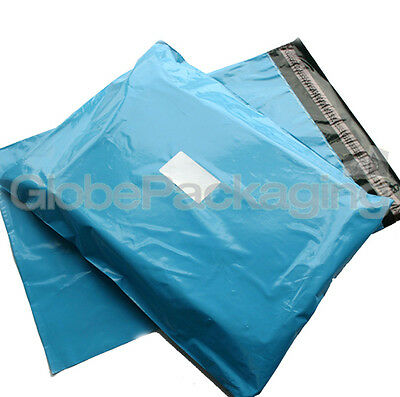 20 x Baby Blue STRONG Postal Mailing Bags - 17 x 21