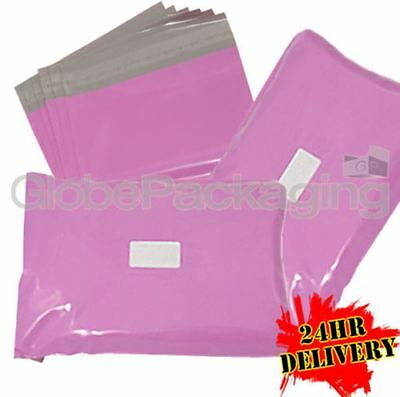 300 x Strong PINK Postal Mailing Bags Sacks 12x16