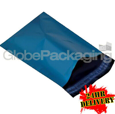 5000 A4 BLUE MAILING POSTAL BAGS MAILERS 230x310mm