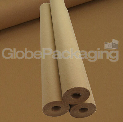 10 Metres Strong Brown Kraft Wrapping Parcel Paper 10m