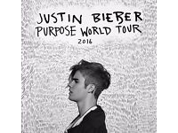 VIP SEATS CLOSEST TO STAGEJustin Bieber O2 ARENA LONDON TICKETS