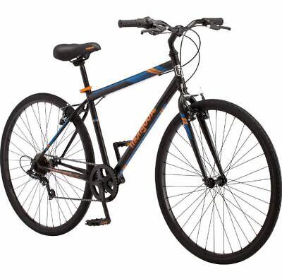 Mens Hybrid Bike Commuter Bicycle Street Urban City Cruiser Ride Workout Weight](Hybrid Commuter Bike)
