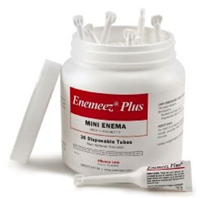 Alliance Labs Enemeez Plus Mini Enema With Anesthetic 30 Ea